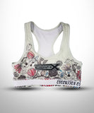 Full dye Sublimated sports Bra