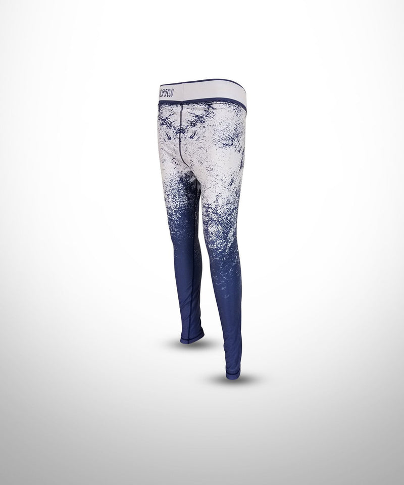 WOMENS FULL DYE SUBLIMATED WINTER COMPRESSION LEGGINGS