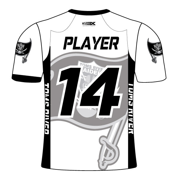 TOMS RIVER RAIDERS FAN JERSEY (WHITE)