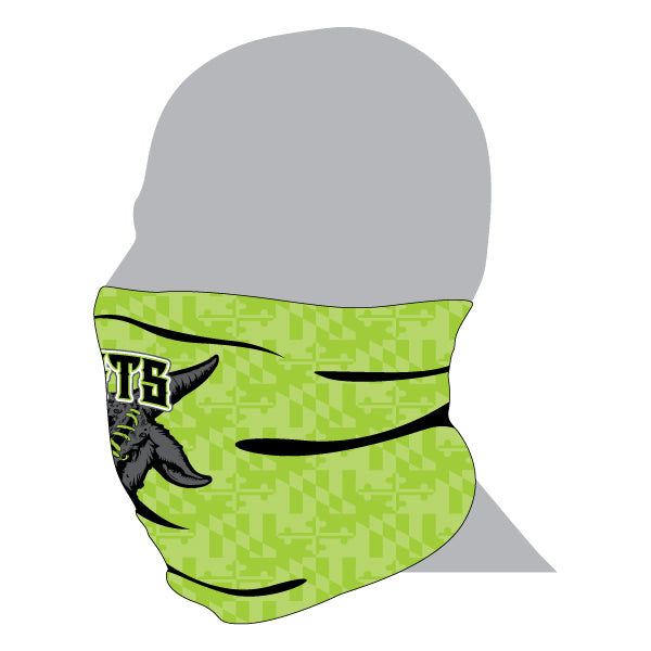 GOATS Full Dye Sublimated Gaiter Lime