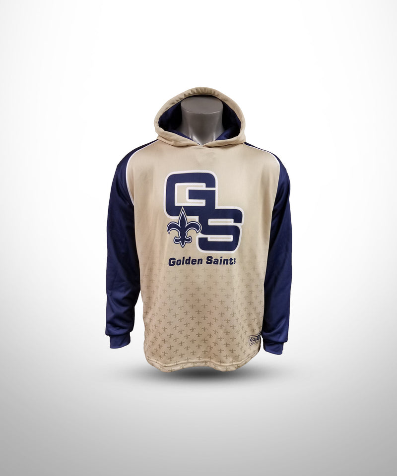 Full Dye Sublimated Hoodie VG NV GOLDEN SAINTS