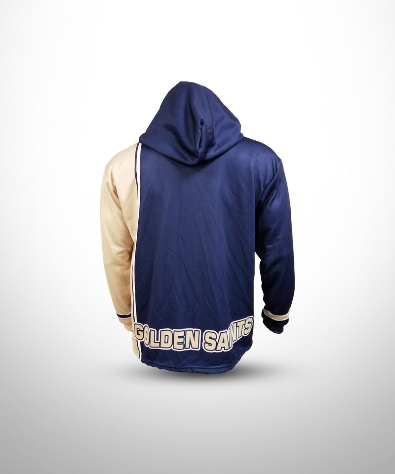 Full Dye Sublimated Hoodie NV VG GOLDEN SAINTS