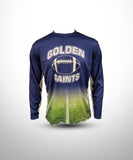 Full dye sublimated Long sleeve jersey GS-Navy-Field