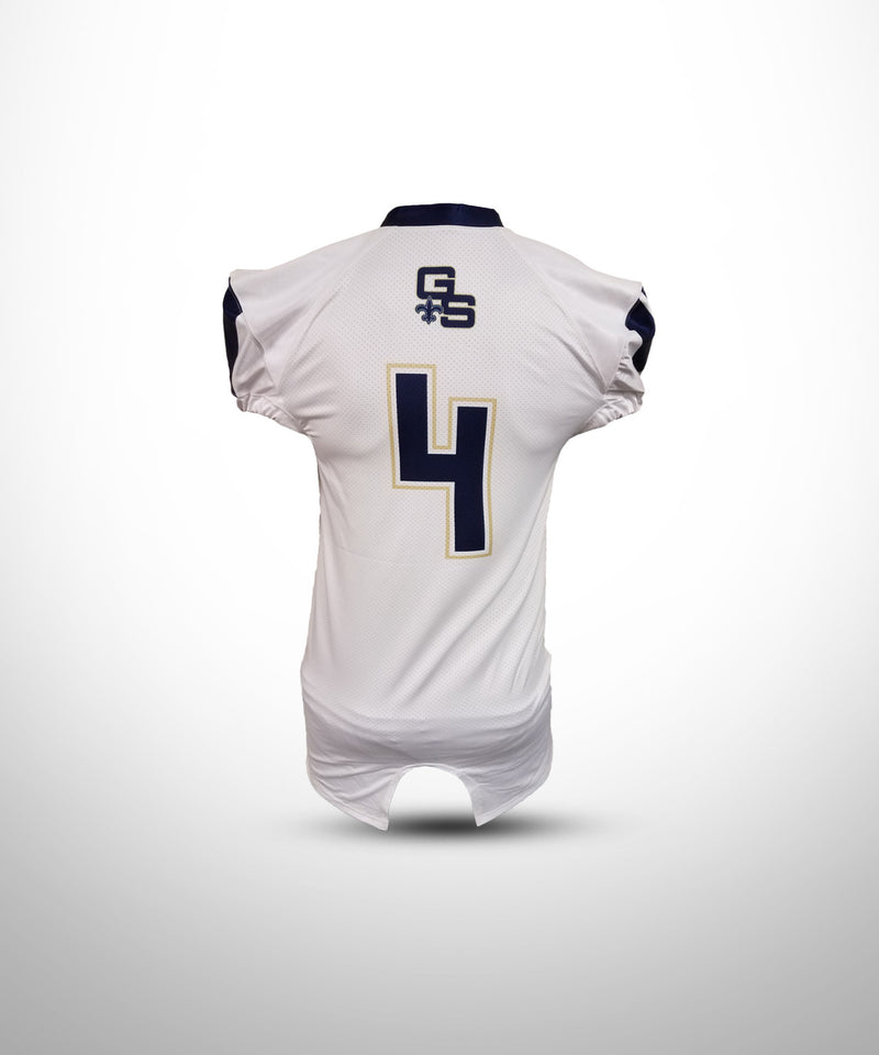 Full Dye Sublimated Game Jersey WHT GOLDEN SAINTS