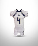 Full Dye Sublimated Game  Jersey Short Sleeves GS-White