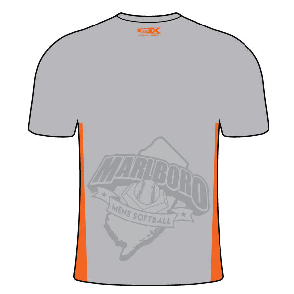 MARLBORO SOFTBALL CREW NECK SHIRT GREY