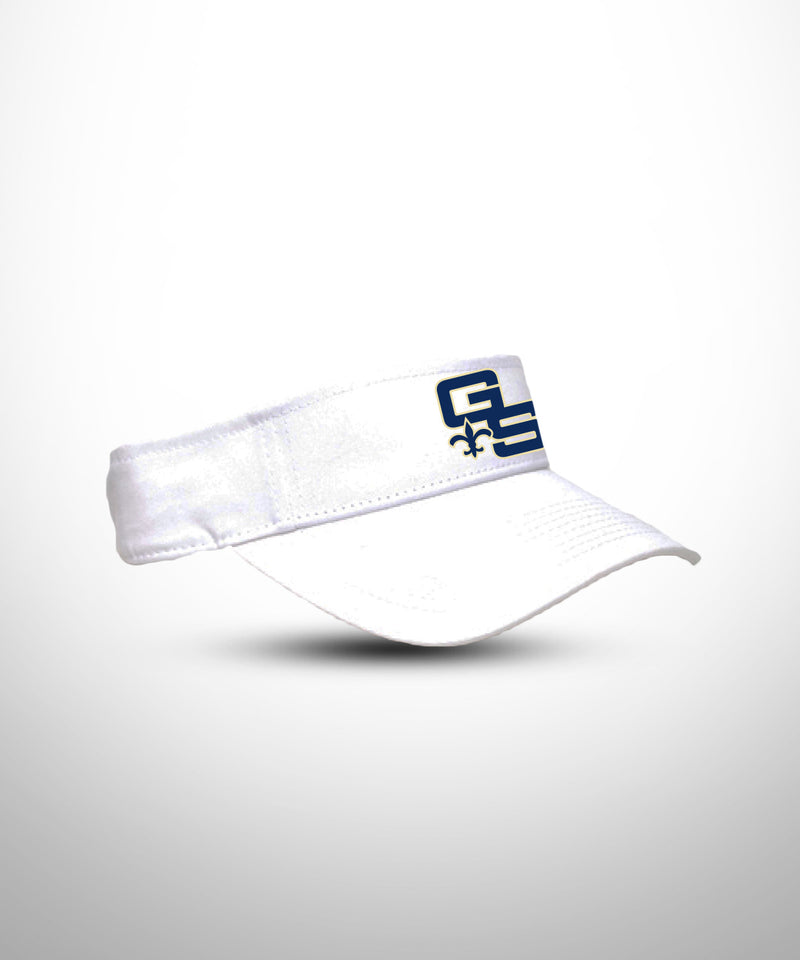 Visor Pro-Model Shape WHT GOLDEN SAINTS