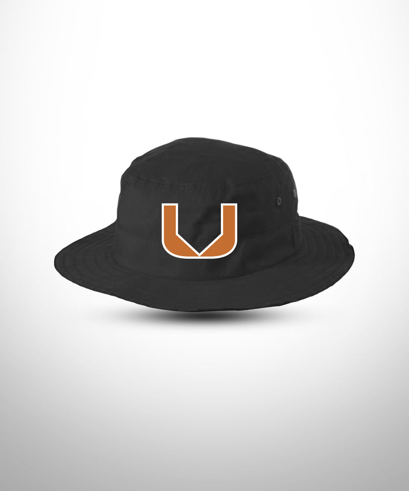 Wide Brim Bucket Hat BLK BASEBALL U
