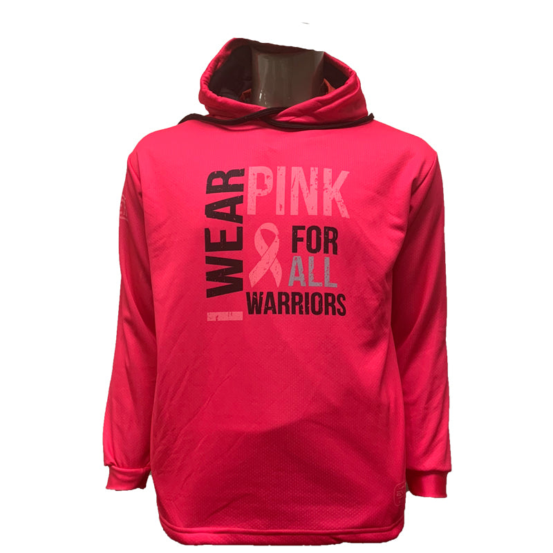 Evo9x PINK WARRIOR Full Sublimated Breast Cancer Awareness Hoodie