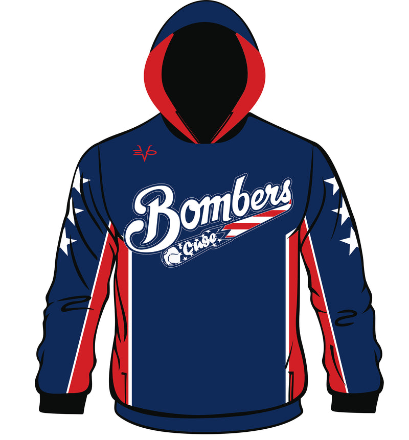 SUBLIMATED HOODIE BOMBERS