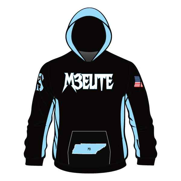 Evo9x M3 ELITE Full Dye Sublimated Hoodie Black