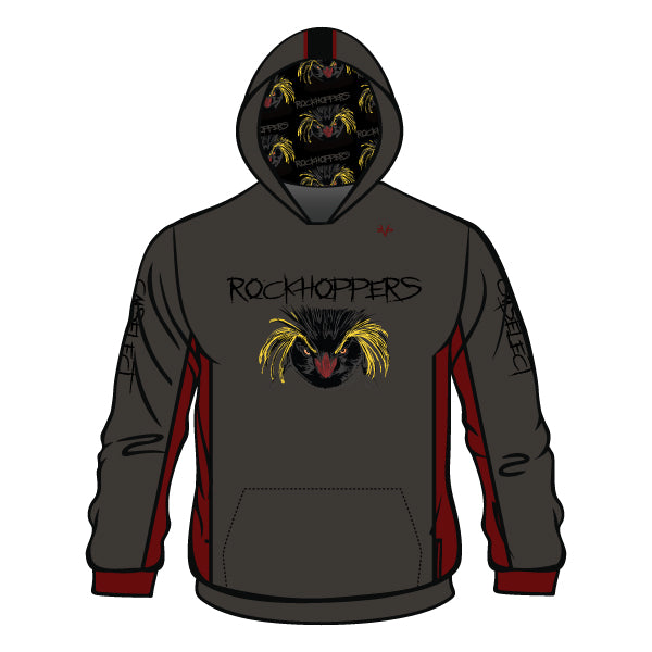 Evo9x CM SELECT ROCKHOPPERS Full Dye Sublimated Hoodie (Charcoal)