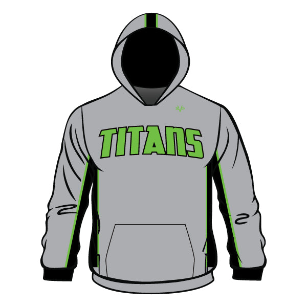 Evo9x TITANS Full Dye Sublimated Hoodie Grey