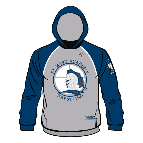 ST. MARY ACADEMY HOODIE (GREY)
