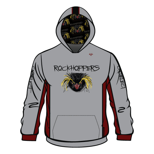 Evo9x CM SELECT ROCKHOPPERS Full Dye Sublimated Hoodie (Grey)