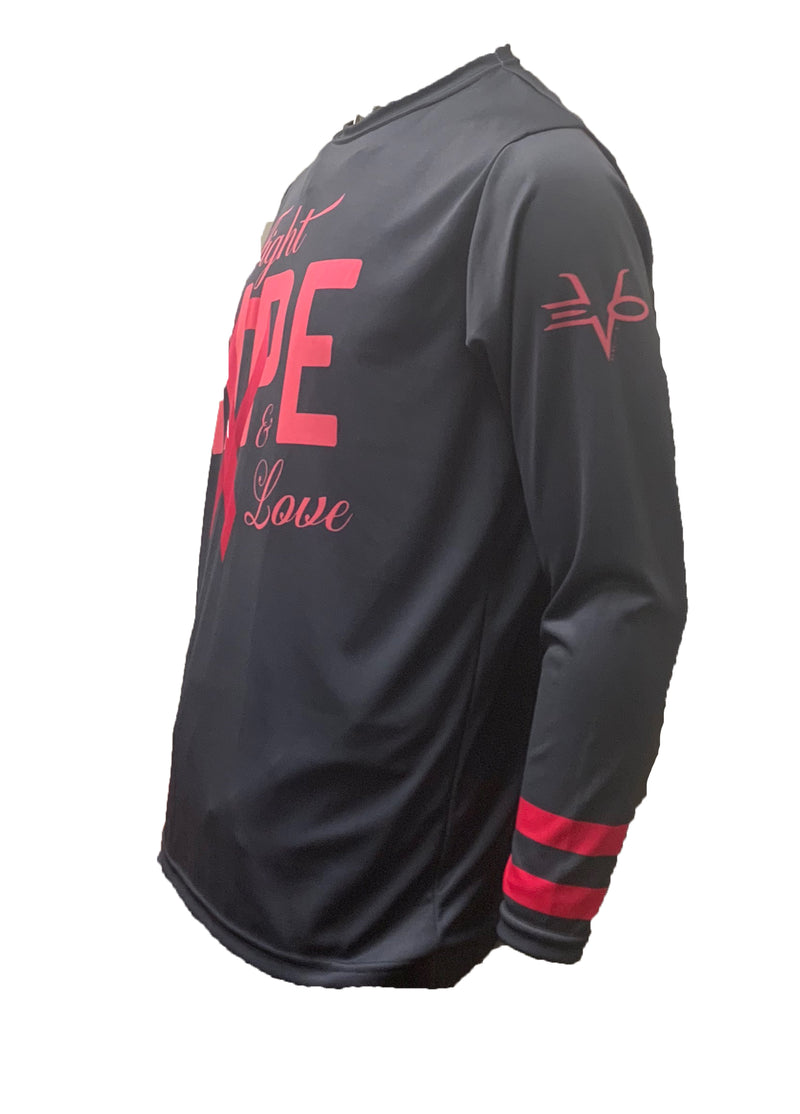 EVO FIGHT HOPE LOVE LONG SLEEVE SHIRT