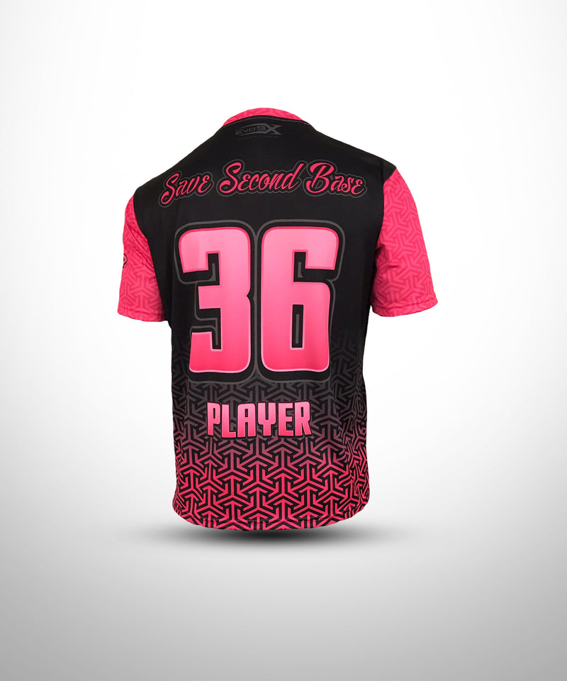 Evo9x Full Sublimated Breast Cancer Awareness Jersey - Fight Like A Girl