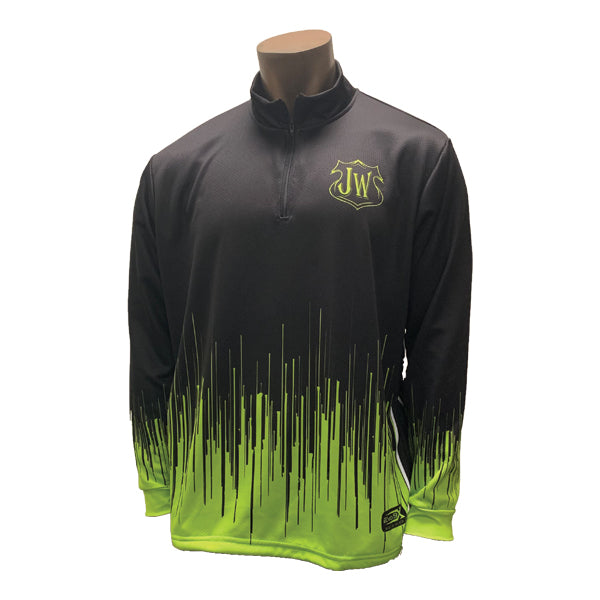 JERSEY WARRIOR SUBLIMATED 1/4 ZIP JACKET