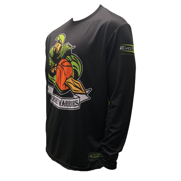 JERSEY WARRIORS SUBLIMATED LONG SLEEVE JERSEY