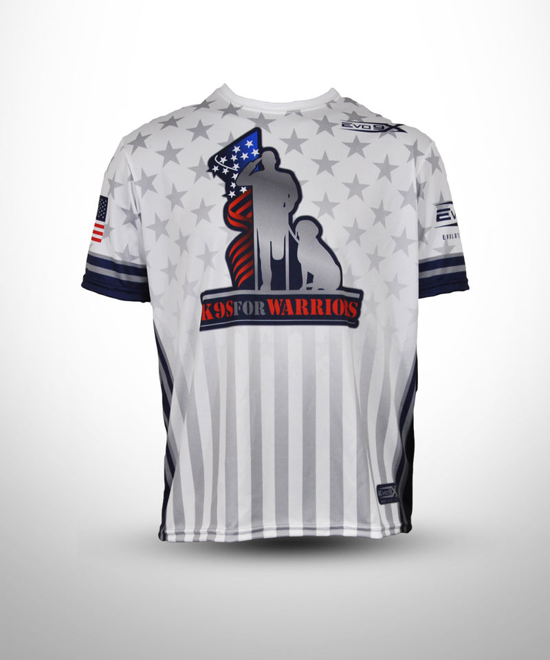 Full Dye sublimated Jersey K9 for Warriors