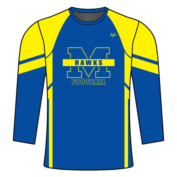 MANCHESTER HAWKS LONG SLEEVE SHIRT