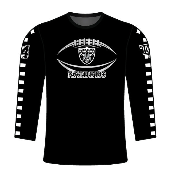 TOMS RIVER RAIDERS LONG SLEEVE SHIRT