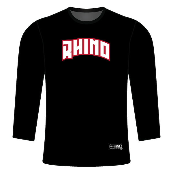 RHINO WRESTLING CREW NECK SWEATSHIRT (NO NAME/PERSONALIZATION)
