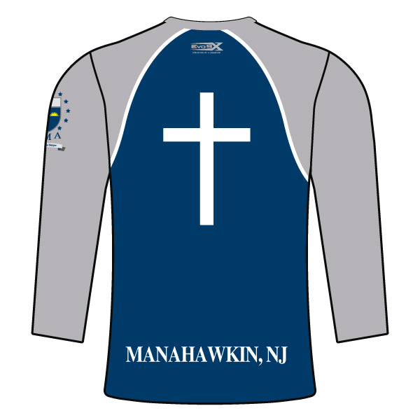 ST. MARY ACADEMY LONG SLEEVE SHIRT (NAVY)