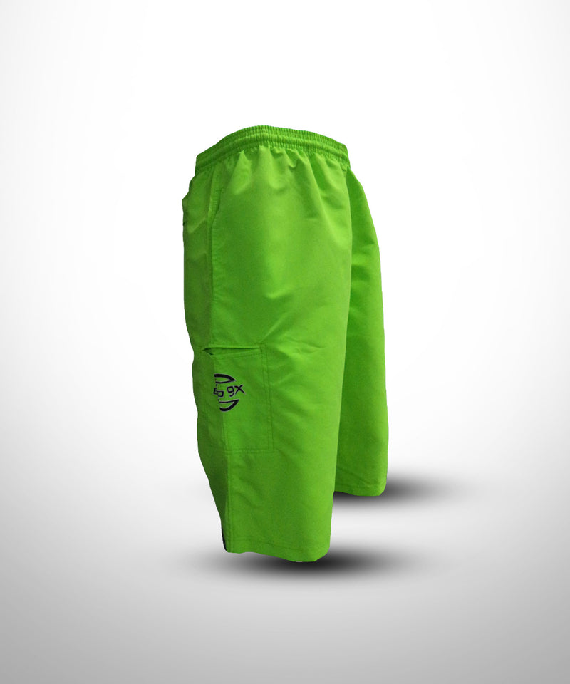 Green Semi Micro Fiber Shorts K9 for Warriors - Evo9x Store