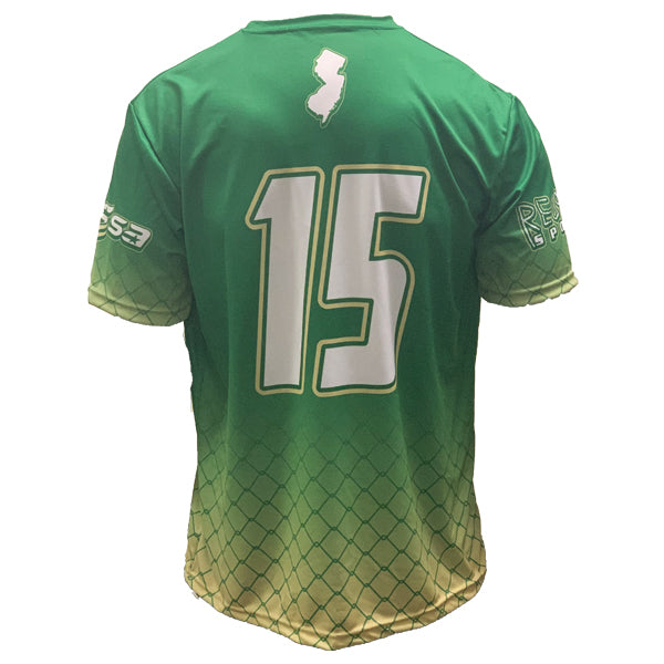 TEAM NJ GREEN SUBLIMATED JERSEY