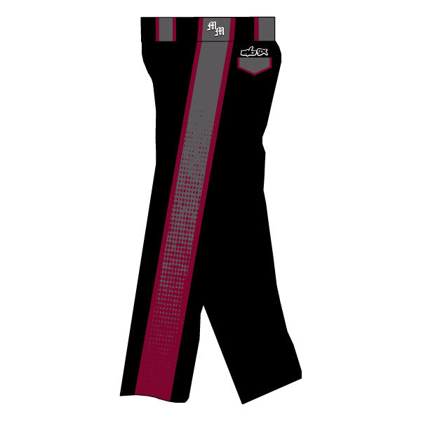 METRO WEST MAYHEM EVO PANTS WITH SIDE PANELS (BLACK)