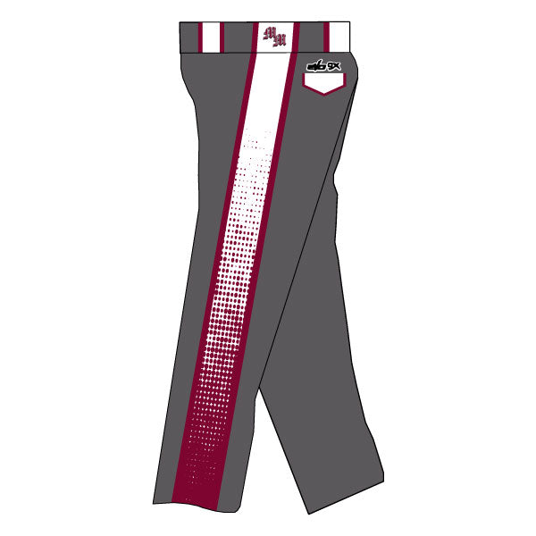 METRO WEST MAYHEM EVO PANTS WITH SIDE PANELS (CHARCOAL)