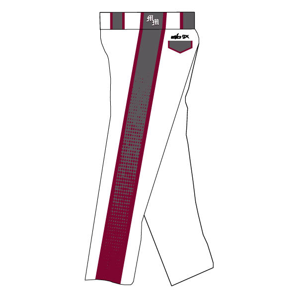METRO WEST MAYHEM EVO PANTS WITH SIDE PANELS (WHITE)
