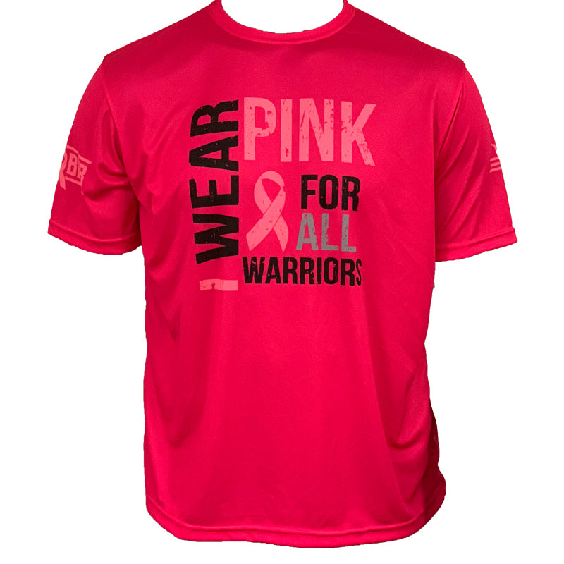 Evo9x PINK Warrior Full Sublimated Breast Cancer Awareness Shirt