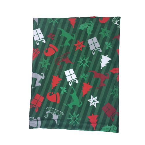 Evo9x CHRISTMAS Face Covering Gaiter Green