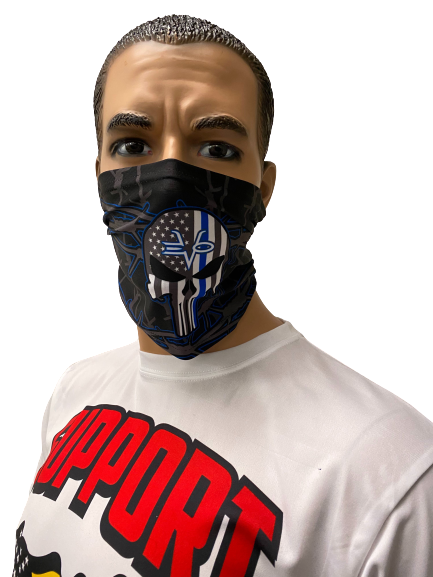 Evo9x EVO Full Dye Sublimated Face Covering Gaiter Black
