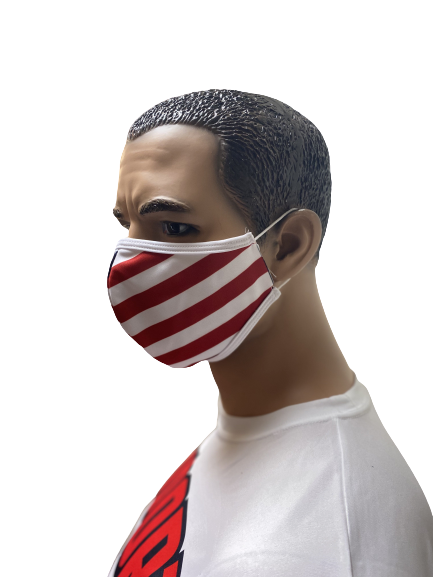 Evo9x AMERICAN FLAG Ear Loop Fabric Face Mask - Pack of 10