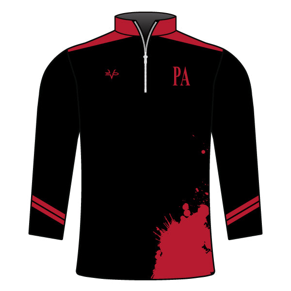 PERTH AMBOY WRESTLING 1/4 ZIP JACKET