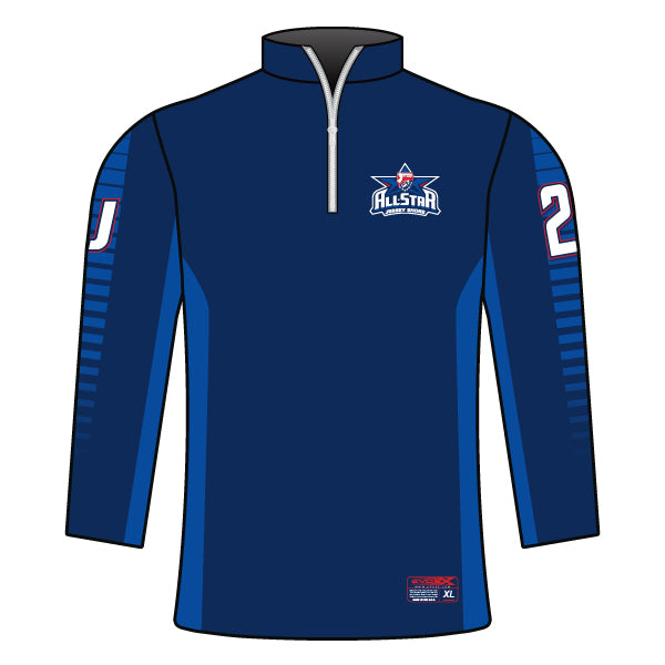NJAYF ALL STAR 1/4 ZIP