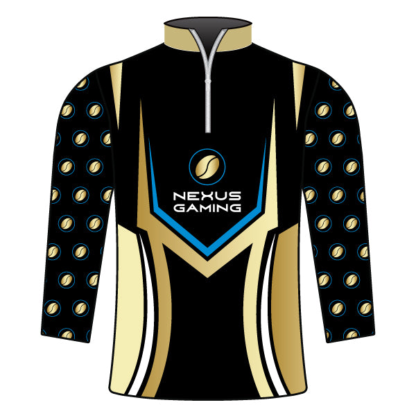 NEXUS GAMING 1/4 ZIP JACKET