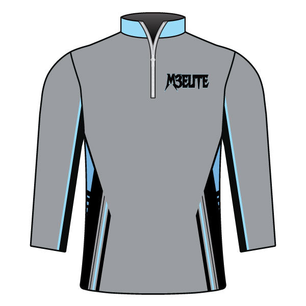 Evo9x M3 ELITE Full Dye Sublimate Quarter Zip Jacket