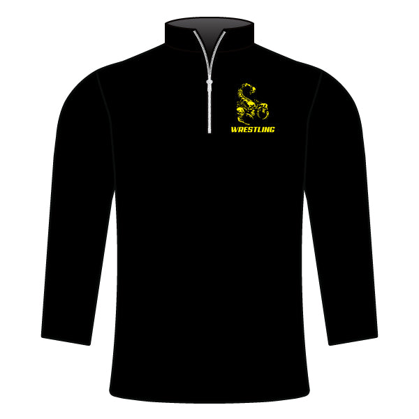 SCORPIONS WRESTLING 1/4 ZIP JACKET
