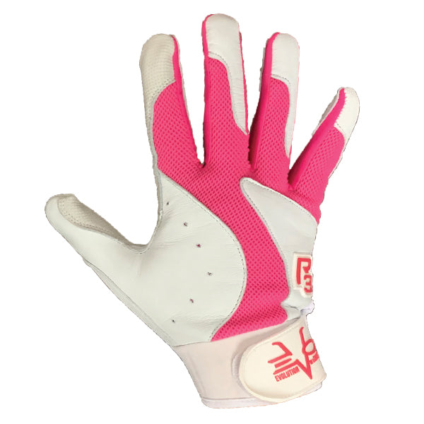 R3 BATTING GLOVES PINK
