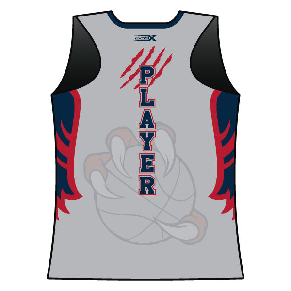 Evo9x DAVINCI BASKETBALL Full Dye Sublimated Racerback Top