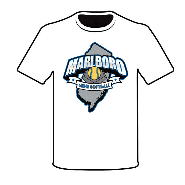 MARLBORO SOFTBALL SEMI SUB NAVY LOGO