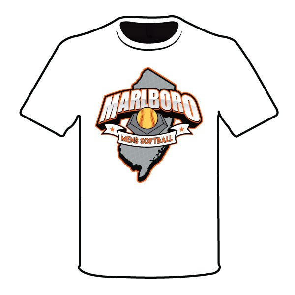 MARLBORO SOFTBALL SEMI SUB ORANGE LOGO