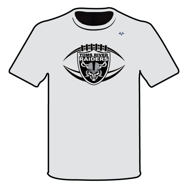 Evo9x TOMS RIVER RAIDERS Semi Sublimated Shirt Gray