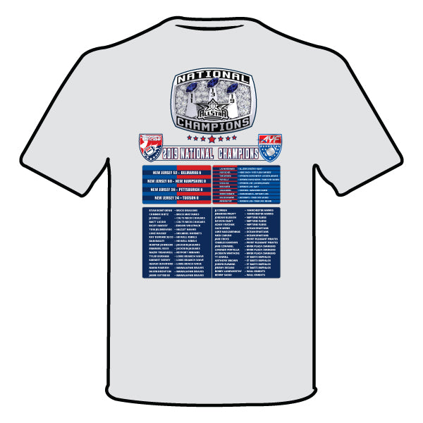 NATIONAL CHAMPION LOGO SEMI SUB SHIRT