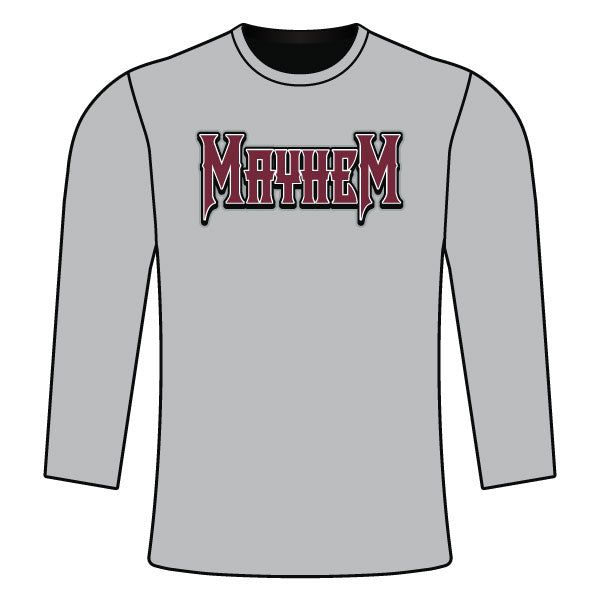 METRO WEST MAYHEM LONG SLEEVE SEMI SUB SHIRT