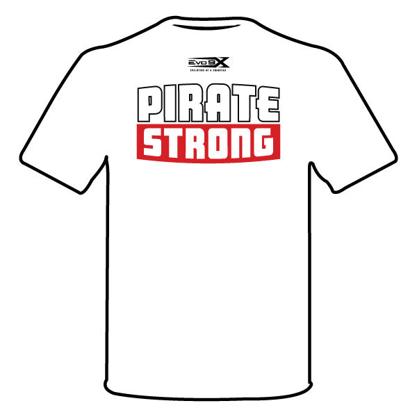 "OLNEY PIRATES BASEBALL SEMI SUB SHIRT (""O"" LOGO - WHITE)"